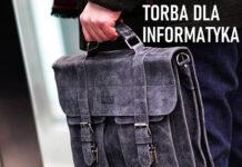 Elegancka torba do pracy dla informatyka